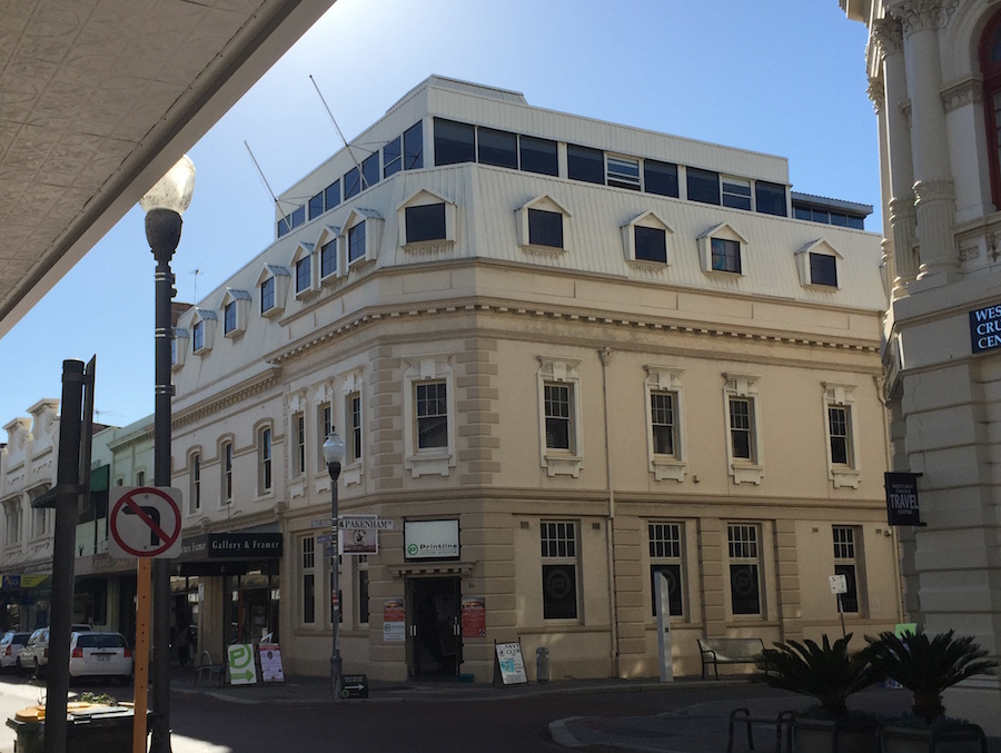 The Navy Club is located on the 6th floor at the corner of High and Pakenham Streets in the West End of Fremantle...